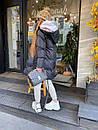 Женский зимний двухсторонний пуховик, фото 2
