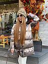 Женский зимний двухсторонний пуховик, фото 3