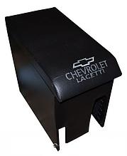 Підлокітник Chevrolet Lacetti, шкірзамінник. Чорний