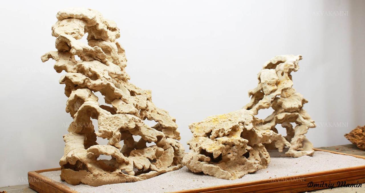 Набор из кенийского камня ручной работы