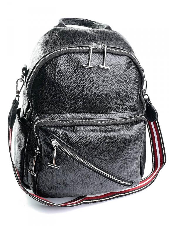 Жіноча сумка шкіряна Case 855 чорна