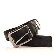 Ремень кожаный Lazar 105-110 см черный L35S1W25, фото 3