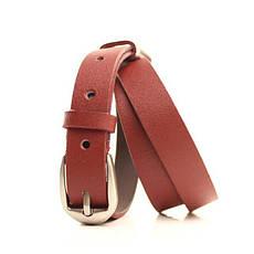 Ремень кожаный Lazar 115 см красный l20s0w7, фото 2
