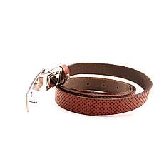Ремень кожаный Lazar 120-125 см красный L20S0G31, фото 3