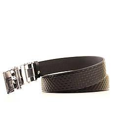 Ремень кожаный Lazar 120-125 см черный L35U1A75-M, фото 3