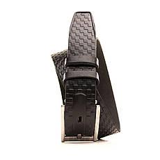 Ремень кожаный Lazar 60-70 см черный l30u3w9, фото 2
