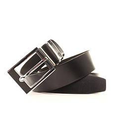 Ремень кожаный Lazar 105-115 см черный l35b1w4, фото 3