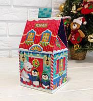 Детский сладкий новогодний подарок Домик (254 г), фото 1