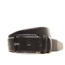 Ремень кожаный Lazar 130-140 см черный l35u1w63-1