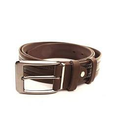 Ремень кожаный Lazar 120-125 см коричневый l35y1w6, фото 2