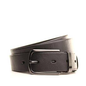 Ремень кожаный Lazar 130-140 см черный L30U1W15-1