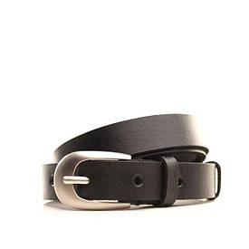 Ремень кожаный Lazar 120-125 см черный l20y0w10