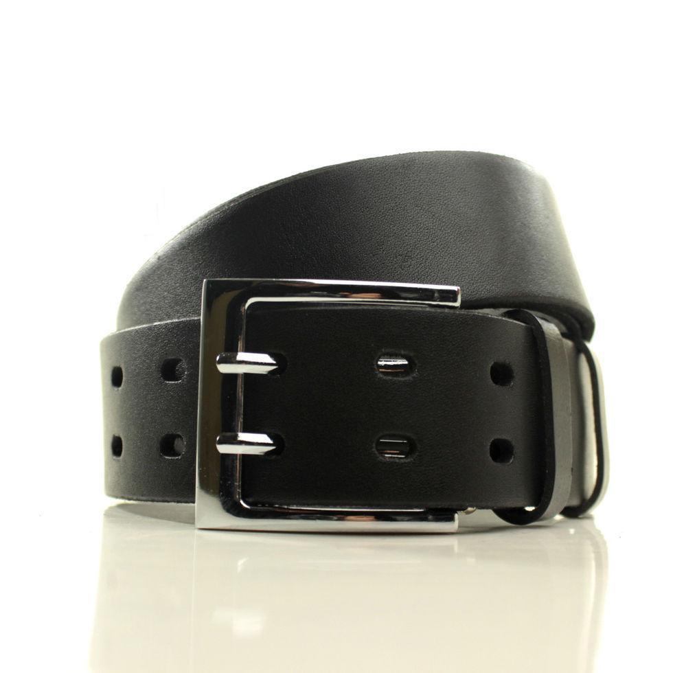 Ремень кожаный Lazar 105-110 см черный L40U121-B