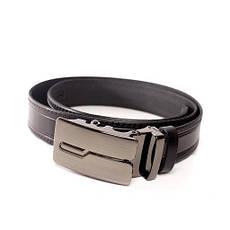 Ремень кожаный Lazar 115-120 см черный л35в1а17, фото 2
