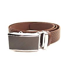 Ремень кожаный Lazar 120-125 см коричневый L35U1A70-M, фото 2