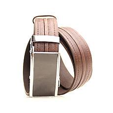 Ремень кожаный Lazar 120-125 см коричневый L35U1A72-M, фото 2