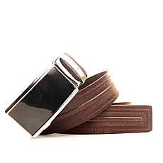 Ремень кожаный Lazar 120-125 см коричневый L35U1A72-M, фото 3