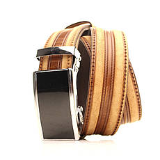 Ремень кожаный Lazar 120-125 см черный L35U1A77-M, фото 2
