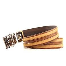 Ремень кожаный Lazar 120-125 см черный L35U1A77-M, фото 3