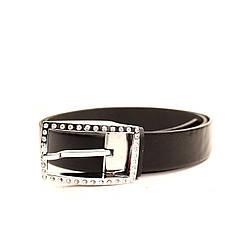 Ремень кожаный Lazar 120-125 см черный l35s0w41, фото 2