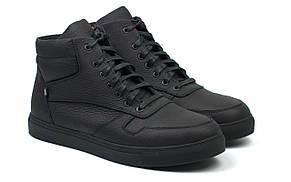 Зимние мужские кроссовки кожаная мужская обувь на меху на молнии Rosso Avangard ReBaKa Matte Leather