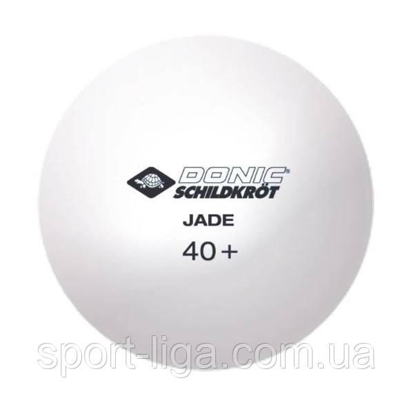 Кульки для настільного тенісу Donic Jade ball, 6 шт, 3 *