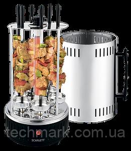 Шашлычница электрическая SCARLETT SC-KG22601 Электрошашлычница 1200 Вт.