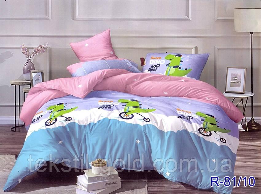 Детский постельный комплект R-81/10 ТМ TAG ранфорс полуторный 150х220