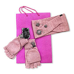 Пов'язка на голову і рукавички з камінням Victoria's Secret in Luxe Gem, Набір