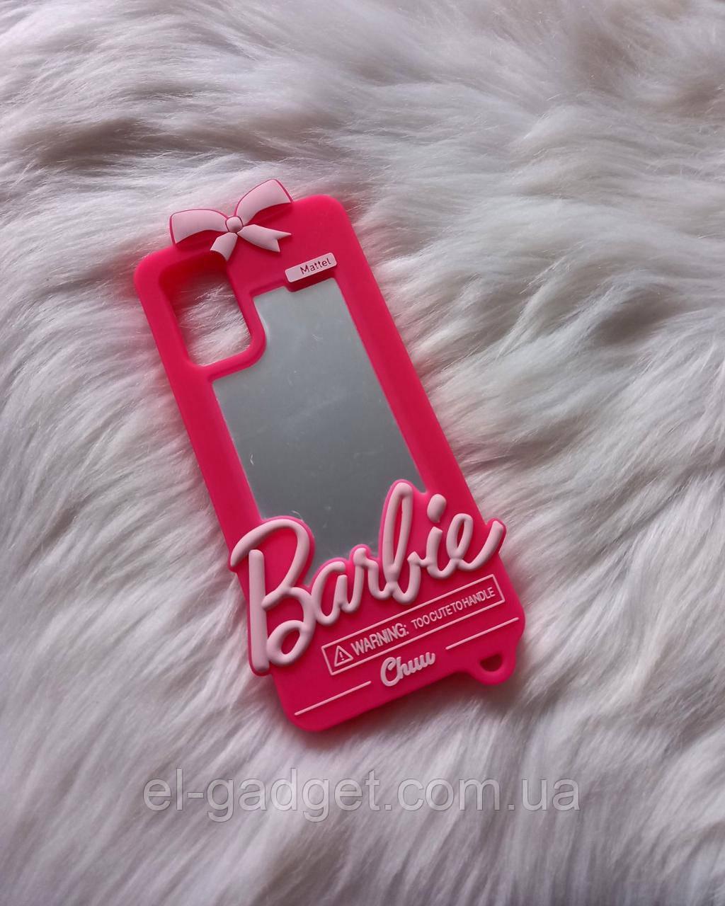 Чехол 3D на Samsung Galaxy S20 plus Барби Barbie розовый