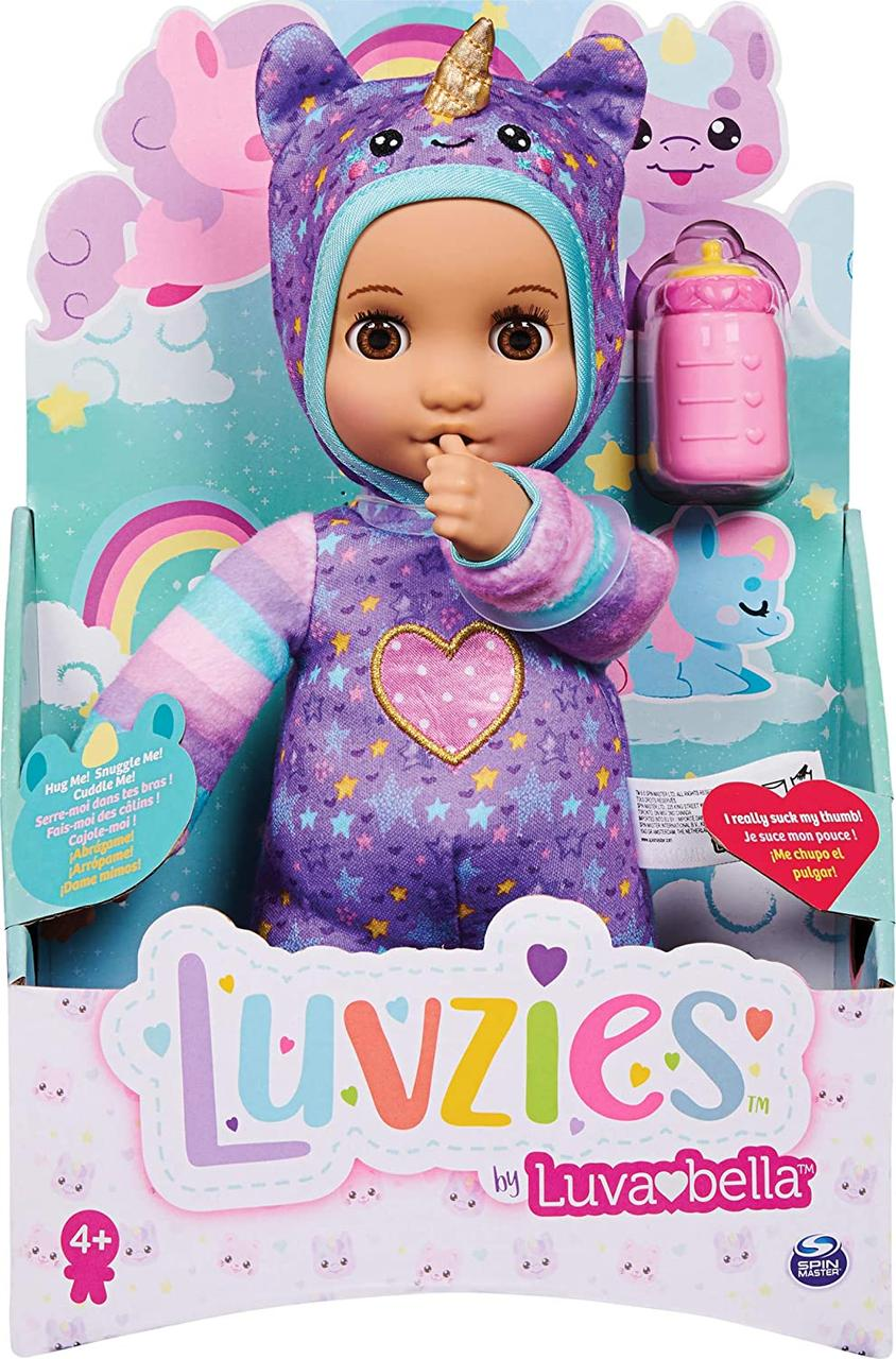 Интерактивная кукла Лавзи единорог от Лувабелла / пупсик Luvabella Luvzies, Unicorn