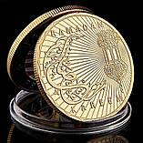 Восьмигранная Денежная Коллекционная монета, фото 2