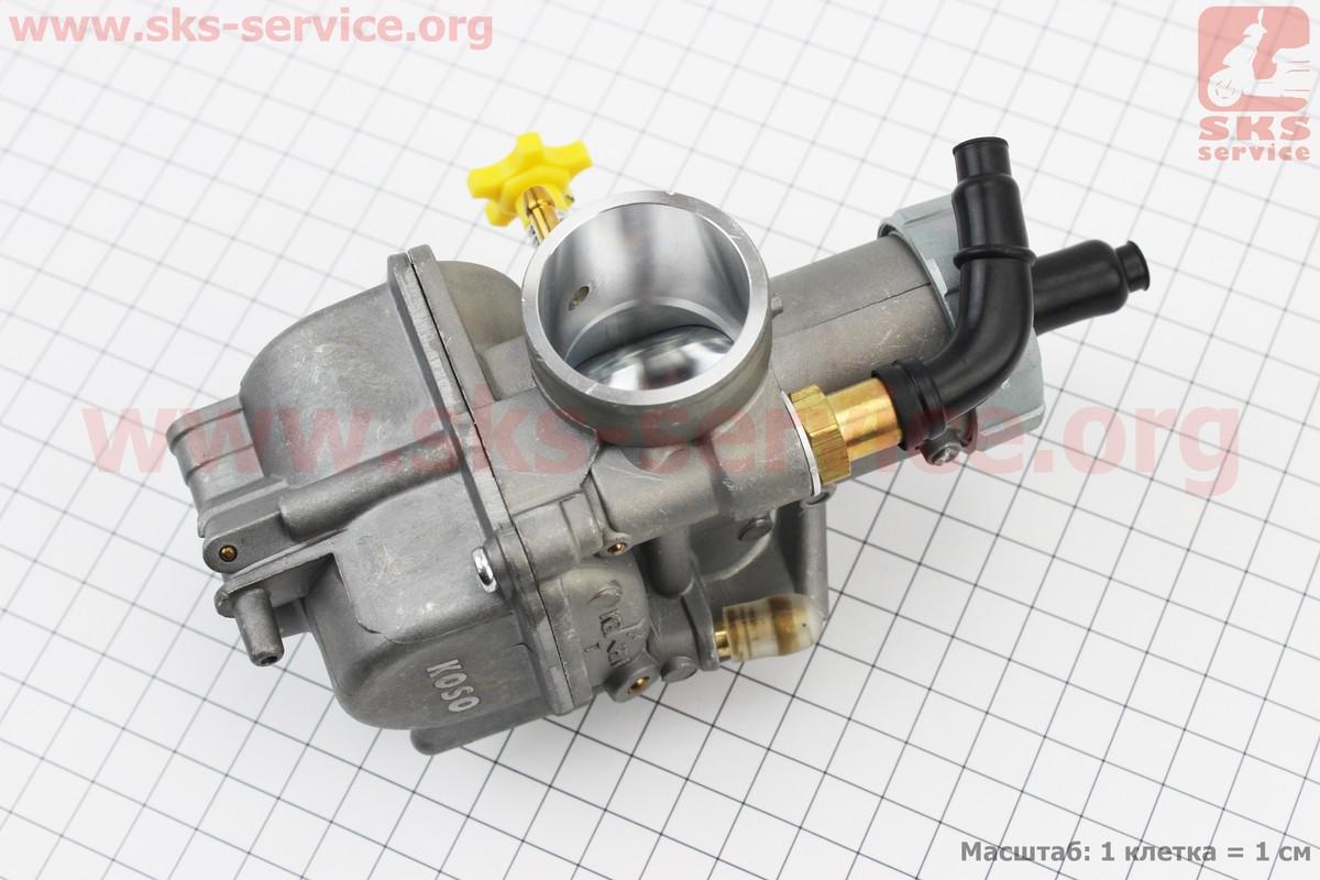 Карбюратор SPORT 2T/4T 150-200cc (d=29mm), дросель под трос, оригинальный на скутер 4т