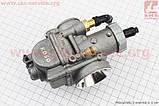 Карбюратор SPORT 2T/4T 150-200cc (d=29mm), дросель под трос, оригинальный на скутер 4т, фото 3