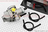 Карбюратор SPORT 2T/4T 150-200cc (d=29mm), дросель под трос, оригинальный на скутер 4т, фото 2