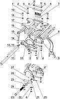 Группа 17. Коробка передач Подгруппа 1702. Механизм управления механической КП. Корпус вилок