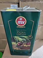 Оливкова олія ITLV Extra Virgen 5л Іспанія