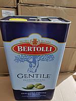 Оливкова олія Bertolli Gentile 5л Італія