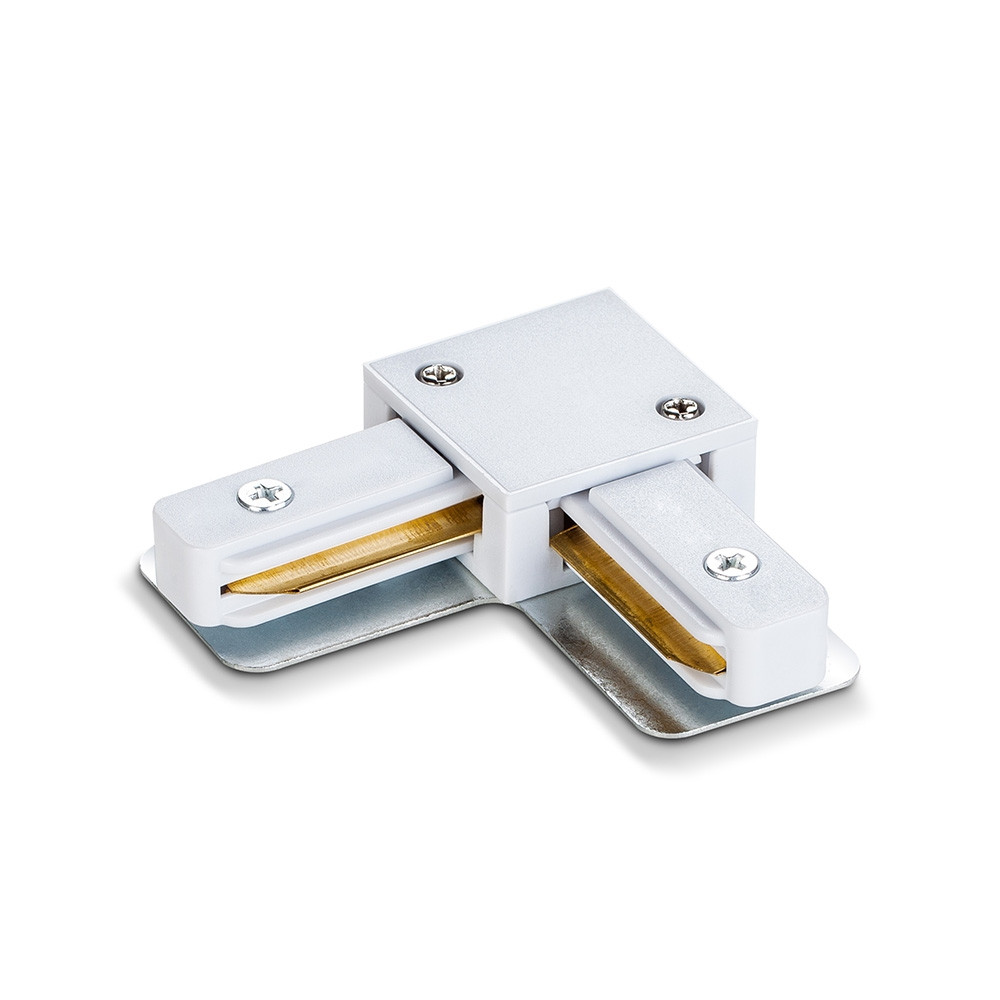 Соединитель для шинопроводов угловой VIDEX белый VL-TRF-CTL-W 25926