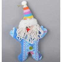 Новогодний плюш для декора CR013, 20*11 см, Украшения новогодние, Новогодние сувениры, Праздничный декор