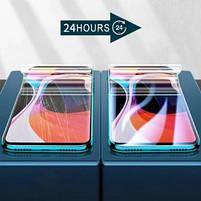 Універсальна надміцна гідрогелева плівка для телефону Xiaomi Mi 9T Pro прозорий глянець, фото 2