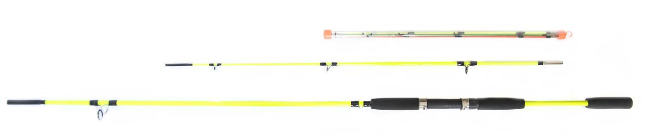"""Спінінг короповий фідер Crocodile """"Yellow"""" 120-180g 2.70 m"""