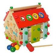 Деревянная игрушка Центр развивающий MD 2087, фото 2