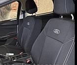 Авточохли на Ford Transit 1+2; Форд Транзит модельний комплект, фото 3