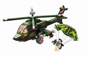 Конструктор Brick Вертолет 818, 275 элементов