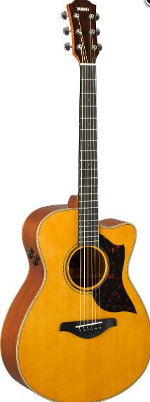 Электроакустическая гитара YAMAHA AC3M ARE (Vintage Natural)