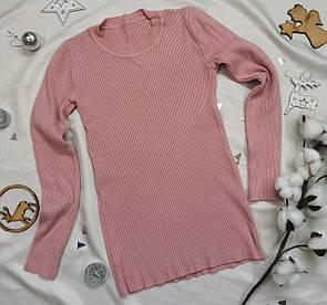 Жіночий светр, пуловер рожевий