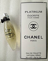 Мини-парфюм для мужчин Chanel Egoiste Platinum (30 мл)