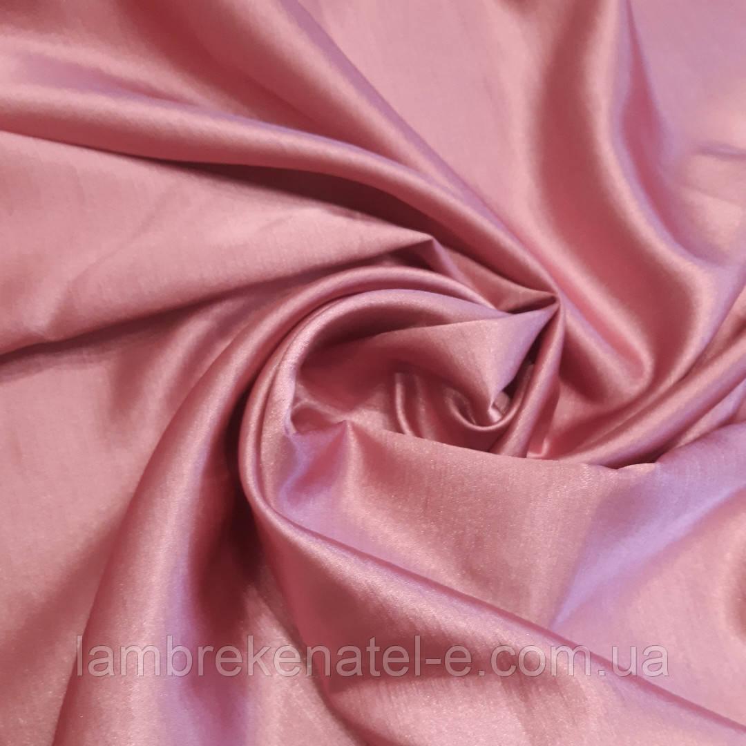 Ткань для штор цвет розовый фрез