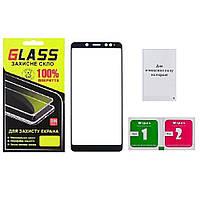 Защитное стекло для Xiaomi Redmi Note 5/5 Pro white, 2.5D, 2 салфетки, олеофобное покрыие, защитные стекла,